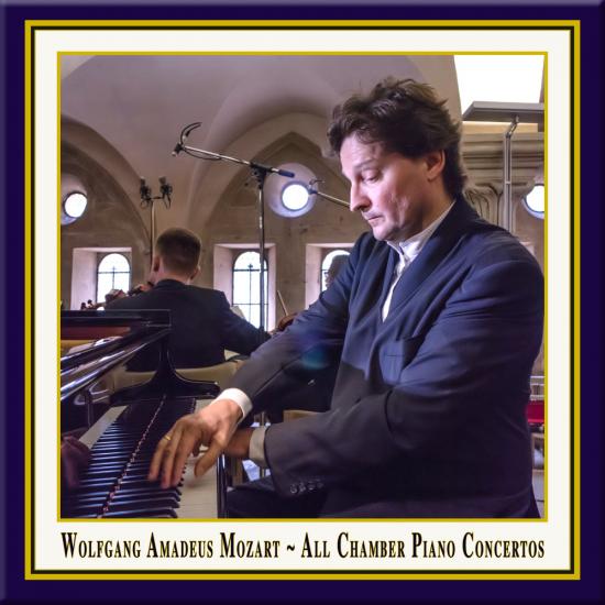 Cover - Mozart: Alle Konzerte für Klavier & Streichquartett