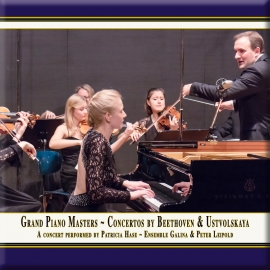 Grand Piano Masters · Piano Concertos by Beethoven & Ustvolskaya