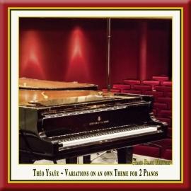 Variations for 2 Pianos: II. Variation V: Assez lent, grave