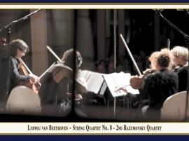 "Streichquartett Nr. 8 ""Rasumowsky-Quartett Nr. 2"": Booklet"