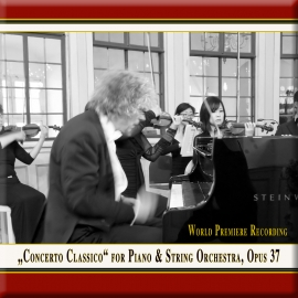 VORRABER: Concerto Classico for Piano & String Orchestra, Op. 37