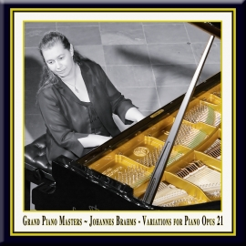 BRAHMS: Variations for Piano in D Major, Op. 21