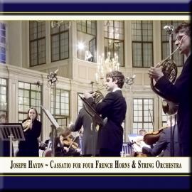 Cassatio Nr. 10 in D-Dur für 4 Hörner & Streichorchester: II. Menuet