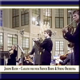 Cassatio Nr. 10 in D-Dur für 4 Hörner & Streichorchester: III. Adagio