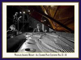 Mozart: Alle Konzerte für Klavier & Streichquartett: Booklet