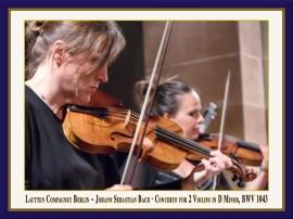 Konzert für 2 Violinen in D-Moll, BWV 1043: Booklet