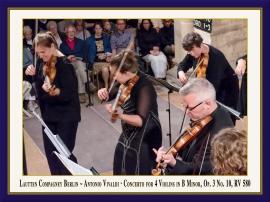 Konzert für 4 Violinen in H-Moll, Op. 3 Nr. 10, RV 580: Booklet