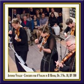 Concerto for 4 Violins in B Minor, Op. 3 No. 10, RV 580: III. Allegro