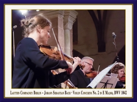 Violinkonzert Nr. 2 in E-Dur, BWV 1042: Booklet