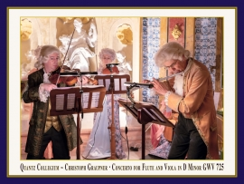 Konzert für Flöte & Viola in D-Moll, GWV 725: Booklet