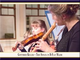 Triosonate in B-Dur: Booklet