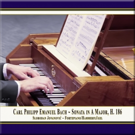 Carl Ph. E. Bach: Sonate in A-Dur, Wq. 55 Nr. 4, H. 186