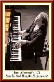 "BEETHOVEN: Piano Sonata No. 23 ""Appassionata"""