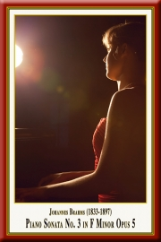 BRAHMS: Klaviersonate Nr. 3