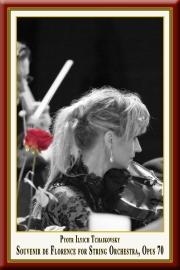 TSCHAIKOWSKI: Souvenir de Florence für Streicher